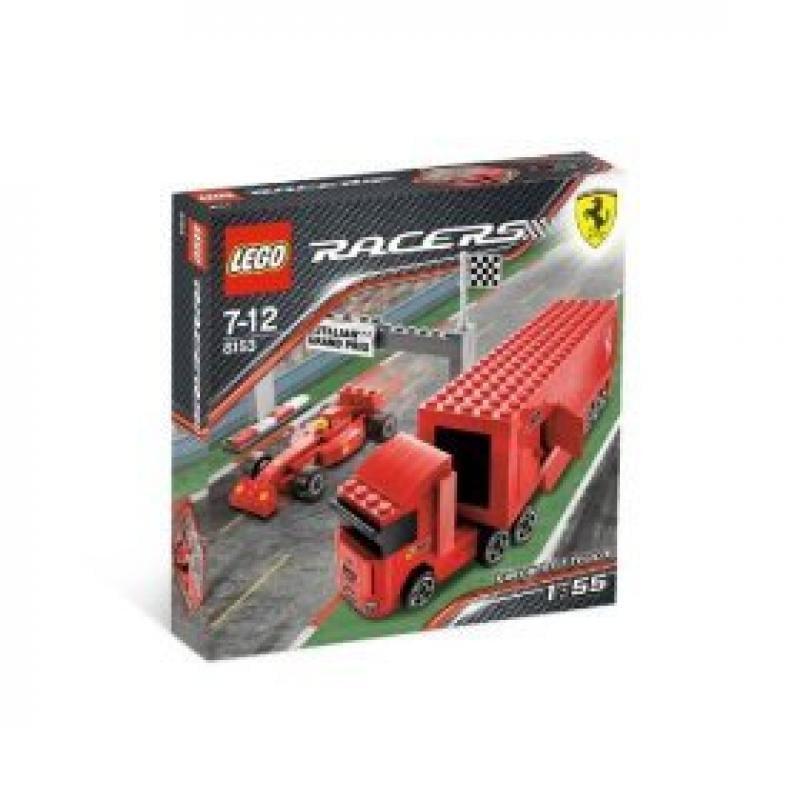 Lego Racers Ferrari F1 Truck