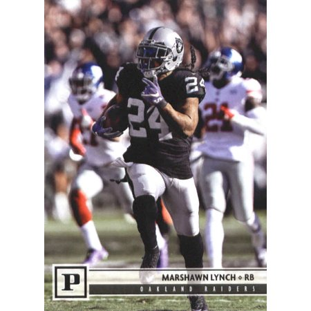 - 2018 Panini #229 Marshawn Lynch Oakland Raiders Football Card