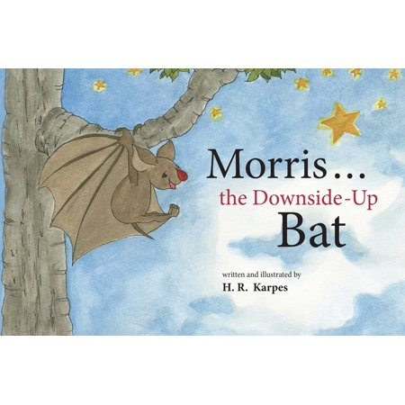 Halloween Bat Make Up (Morris . . . the Downside-Up)