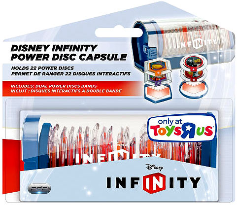 Disney Infinity Power Disc Capsule Exclusive Carry Case by