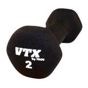 VTX by Troy Barbell 2 lb. Neoprene Dumbbell - Single