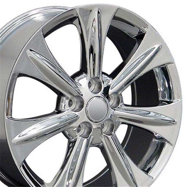 18 x 7 in. Wheel, Chrome for Lexus RX