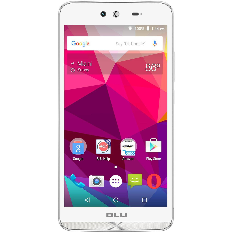 BLU Dash X D010U GSM Dual-SIM Android Quad-Core Smartphone (Unlocked)