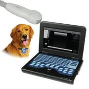 Laptop Veterinary Ultrasound Machine B-Ultrasound with Micro Convex cardiac probe
