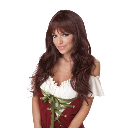 California Costumes Women'S Eye Candy - Coquette Wig, Brunette, One Size - image 1 de 1