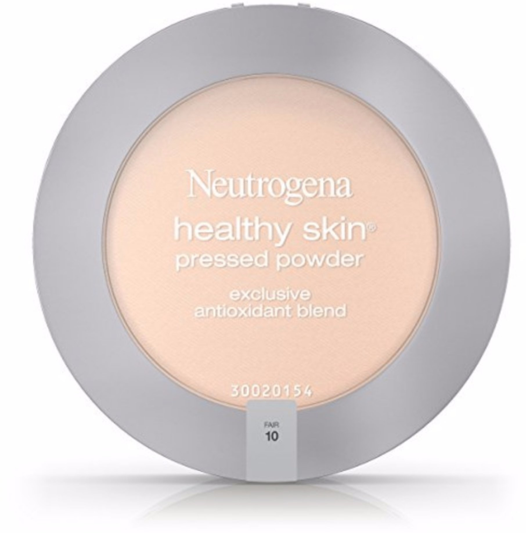 4 Pack - Neutrogena Healthy Skin Pressed Powder Spf 20, Fair [10] 0.34 oz