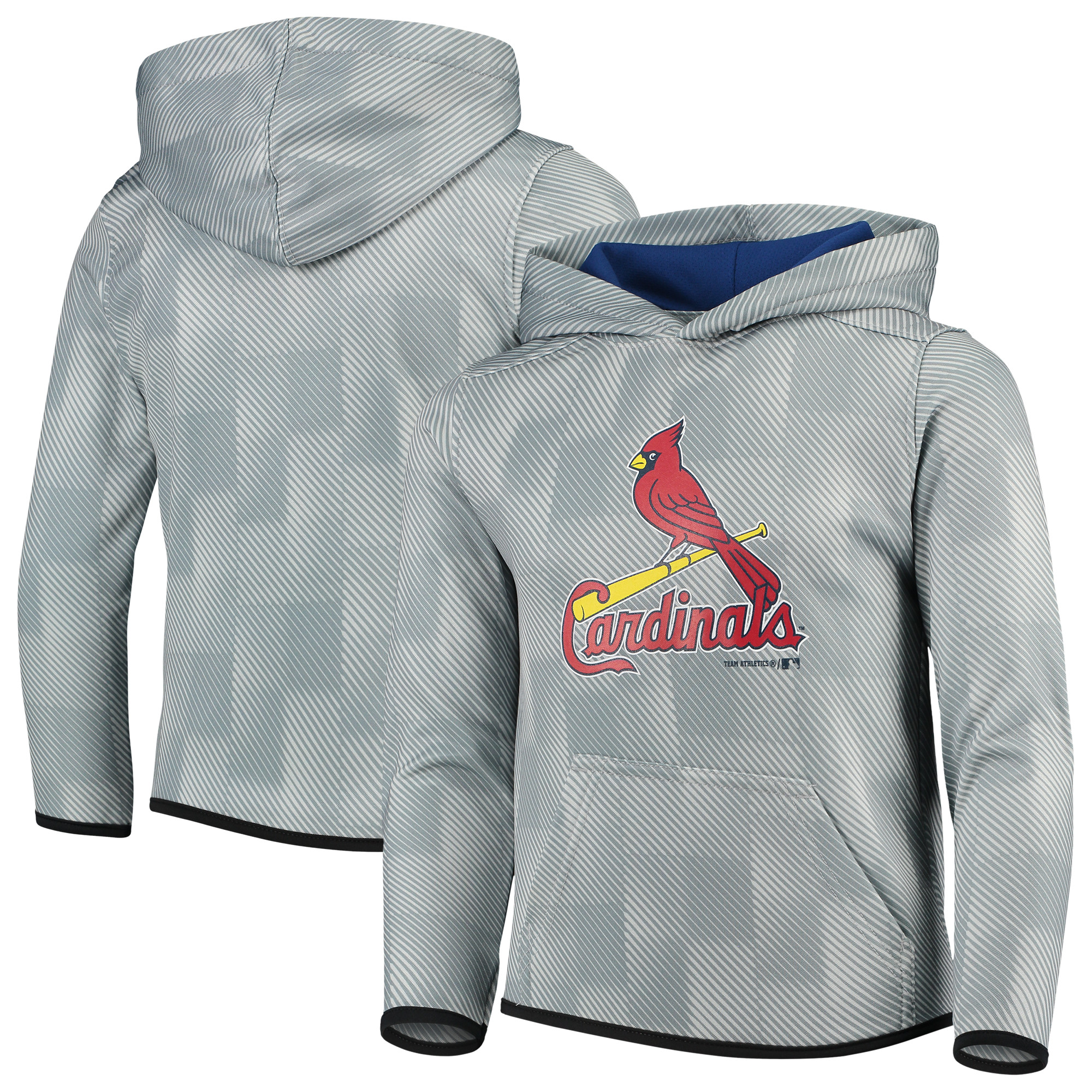 St. Louis Cardinals Youth Polyester Fleece Sweatshirt - Gray