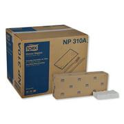 "Tork Advanced Dinner Napkins, 2 Ply, 15"" x 16.25"", 1/8 Fold, White, 375/Packs, 8 Packs/Carton -TRKNP310A"