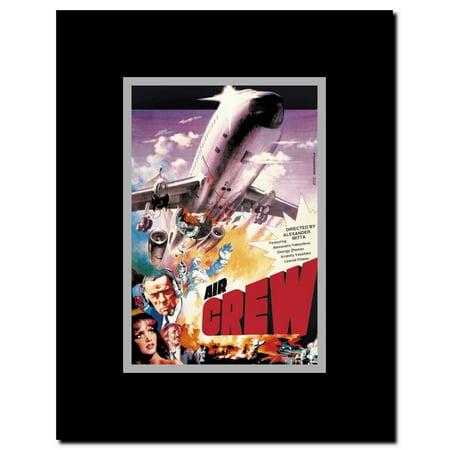 Air Crew Framed Movie Poster Crewing Pop Art