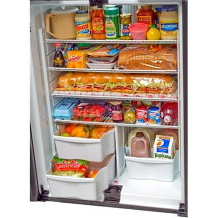 NORCOLD 1210 Three Compartment 4 Door Side-By-Side Refrigerator