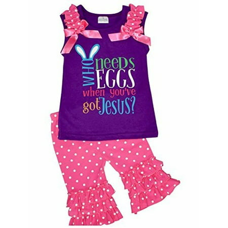 Walmart Baby Girl Clothes Impressive Unique Baby Girls Got Jesus Easter Outfit 60TS Purple Walmart