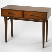 Butler Specialty Console Table in Brown and Black