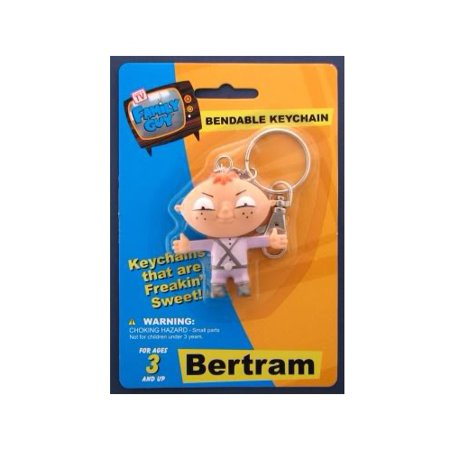 Family Guy Bendable Keychain - Family Guy Bertram Bendable Keychain