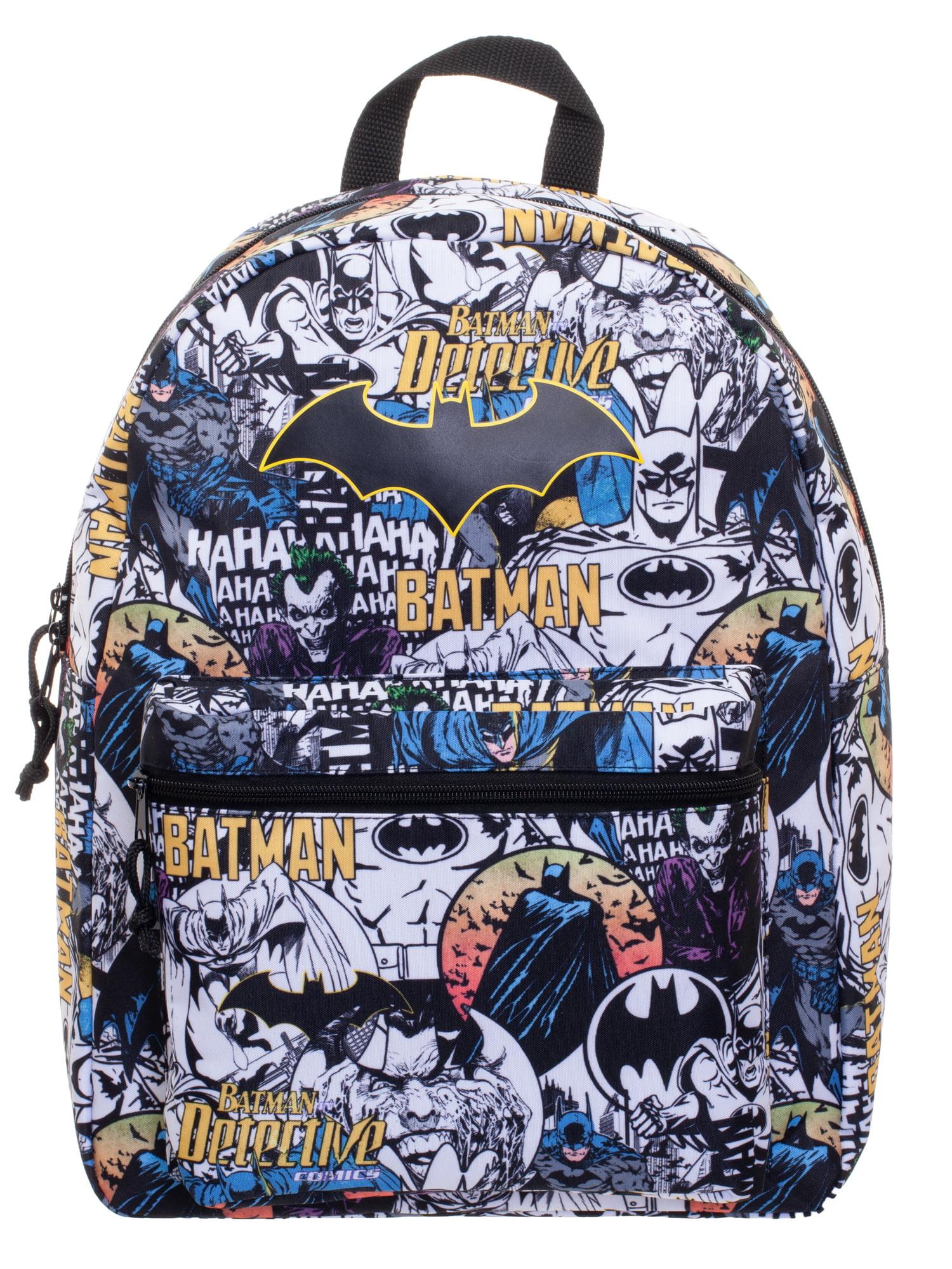 "DC Comics Batman Classic Comic Characters 16"" Backpack by Bioworld Merchandising"