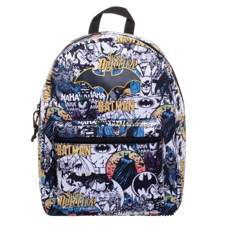 "DC Comics Batman Classic Comic Characters 16"" Backpack"
