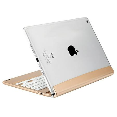 iEGrow New F17 Bluetooth 3.0 Keyboard for iPad Air A1474 A1475 / 2017 New iPad 9.7 A1822