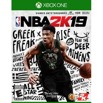 NBA 2K19 Standard Edition for Xbox One [Digital Code]