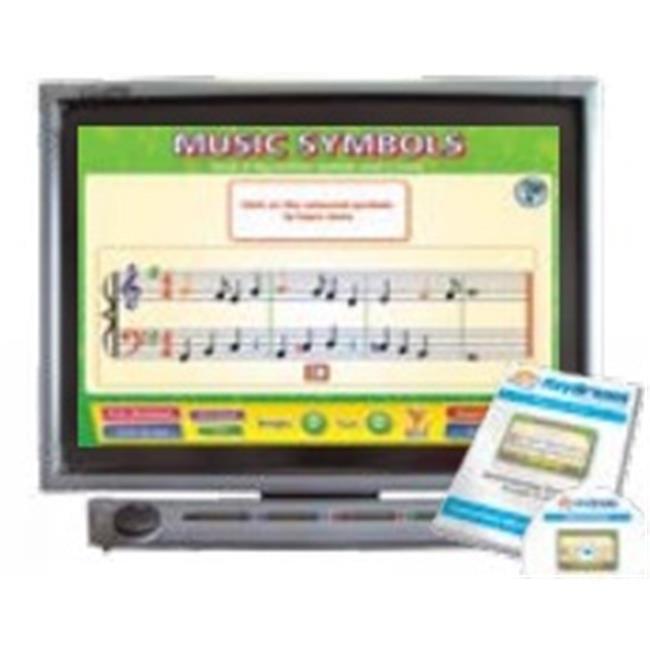 Daydream Education DD-MU-5-09 Musical Symbols Interactive Software, Single User