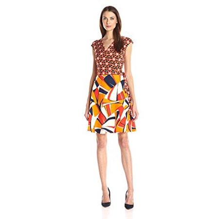 92eb8419a1 Taylor Child Code - Taylor Dresses Women s Short V Neck Wrap Jersey ...