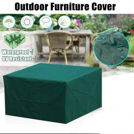 3 Size Waterproof Furniture Cover for Table Chair Wicker Sofa Garden Patio Park Outdoor