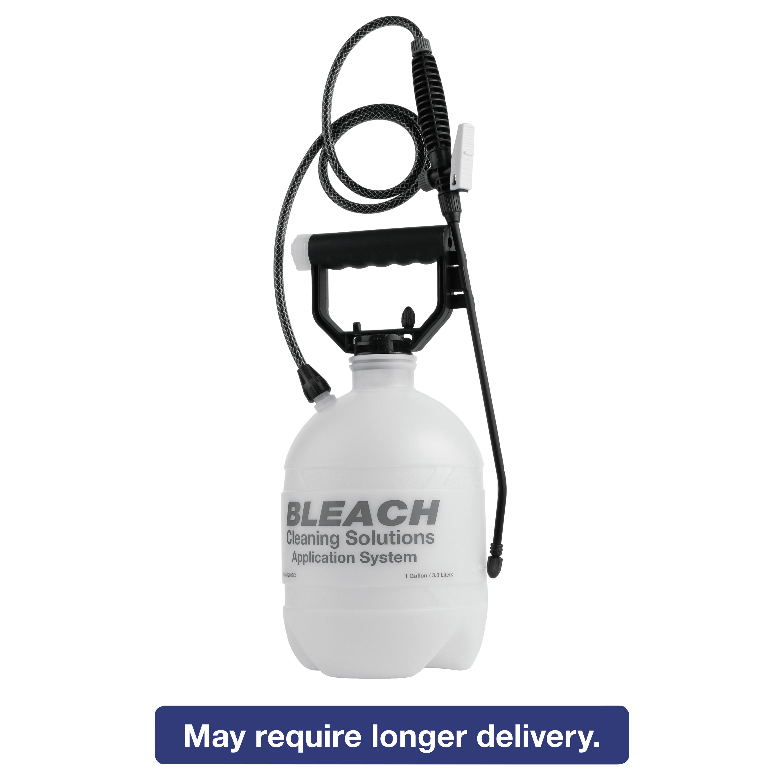 R. L. Flomaster Commercial-Grade Sprayer, Atomist Bleach, 1gal, Polyethylene, White Black by RL FLOMASTER