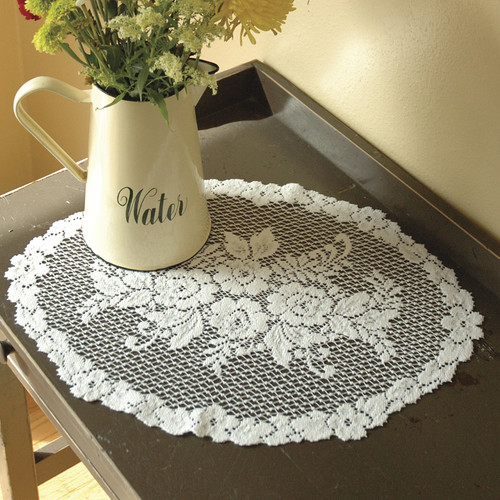 Heritage Lace Victorian Rose Placemat (Set of 2)