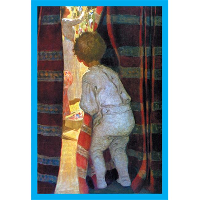 Buy Enlarge 0-587-05070-5P12x18 Peeping into the Parlor- Paper Size P12x18
