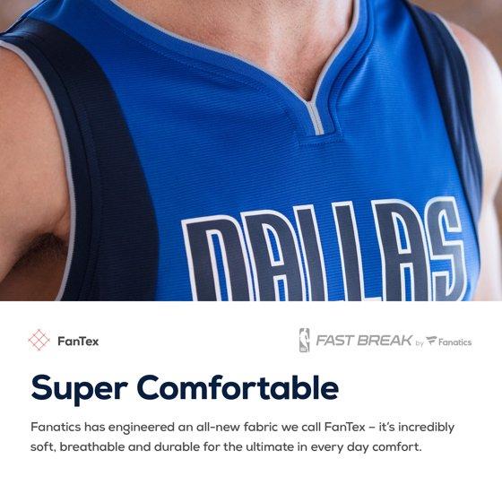 5411679ec46 Luka Doncic Dallas Mavericks Fanatics Branded Fast Break Replica Jersey Blue  - Icon Edition - Walmart.com