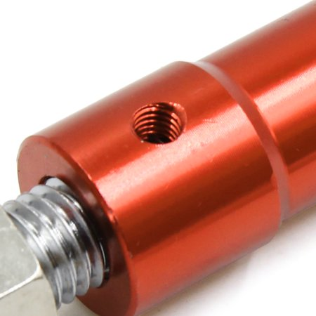 Béquille Moto Stand Pied Orange Alliage Aluminium c té escamotable - image 1 de 2