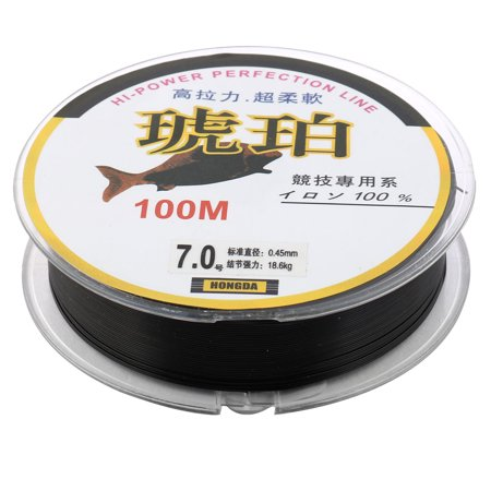Unique Bargains 109Yds/100M 0.45mm 36 lbs Spool Fishing Line - image 3 de 3