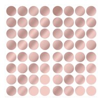 WallPops Rose Gold Confetti Dots