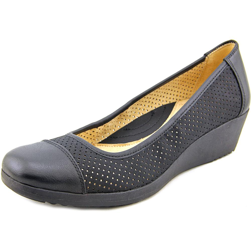 Naturalizer Bartow Women Open Toe Synthetic Wedge Heel by Naturalizer