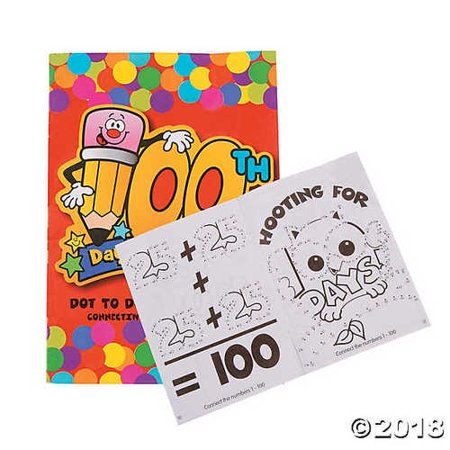 100th Day of School Activity Books (100th Day Of School Activities For Second Grade)
