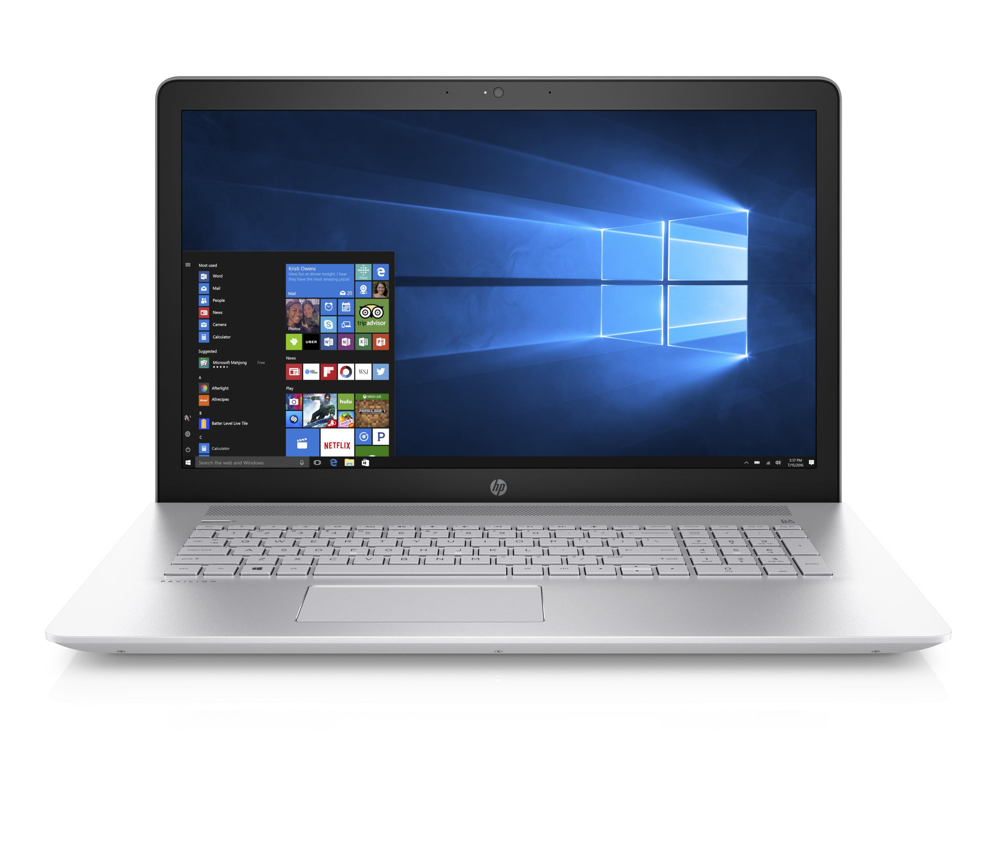 "HP Pavilion 17-ar050wm, 17.3"" Laptop, Full HD IPS Dislpay, Windows 10 Home, AMD A10-9620P QC, 8GB Memory,... by HP"