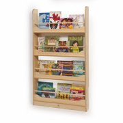 Whitney Brothers 4 Compartment Book Display