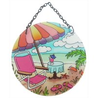 JD Yeatts Beach Umbrella Sun Catcher One Size Multi