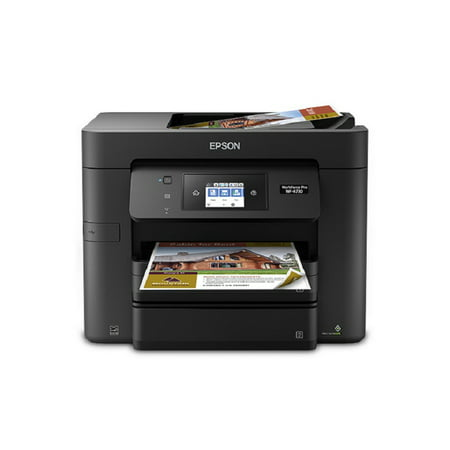 Epson WorkForce Pro WF-4730 Wireless All-in-One Color Inkjet Printer, Copier, Scanner with Wi-Fi Direct ()