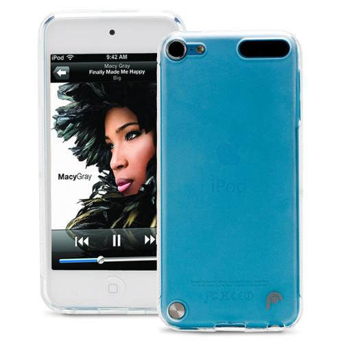 Fosmon Durable Frosted TPU Case Cover Skin for Apple iPod Touch 5th Gen - Clear