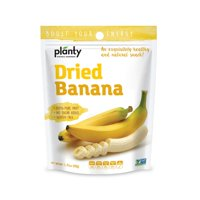 Planty Dried Fruit Snacks, No Sugar Added, Non-GMO, Vegan and Kosher Certified (Banana, 1-Pack)