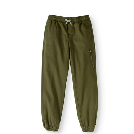 factory authentic better select for newest Boys' Stretch Twill Jogger