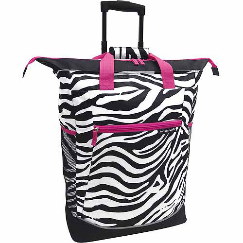 "Travelers Club 20"" Rolling Tote"