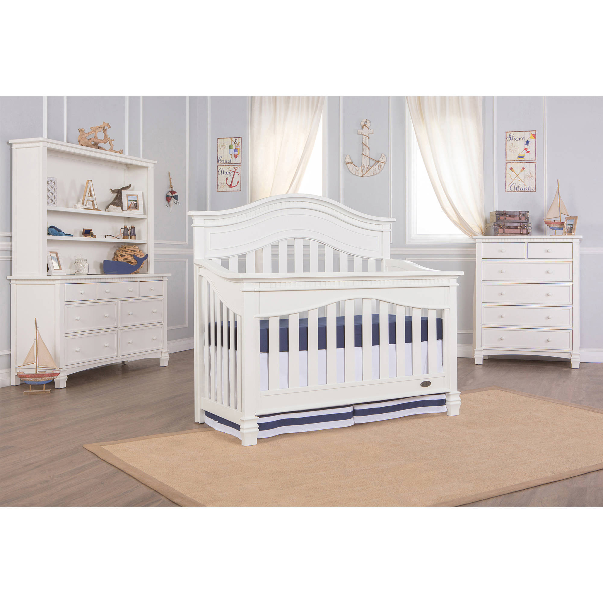 Evolur Cheyenne 5-in-1 Convertible Crib, Choose Your Finish