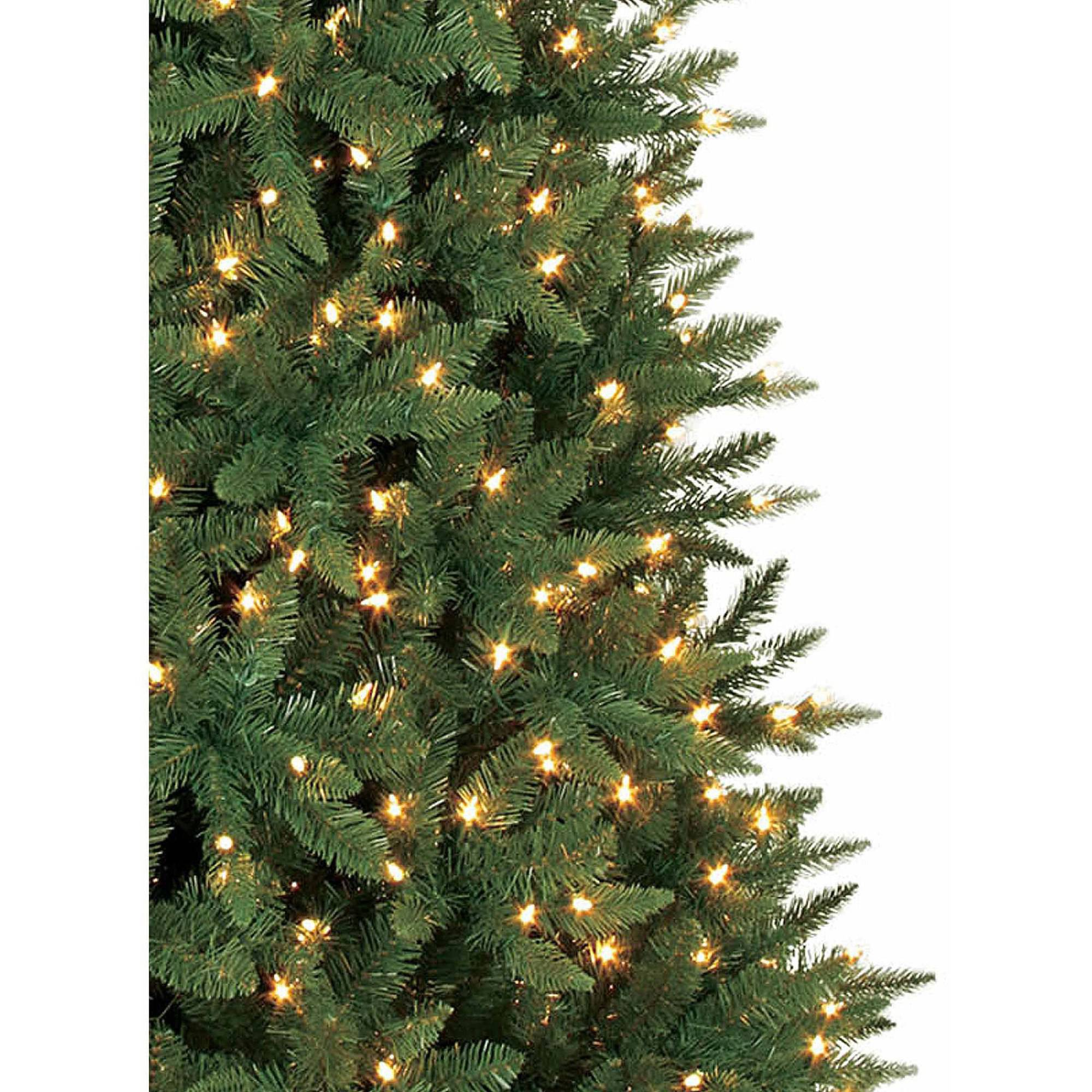 Artificial Christmas Tree Pre-Lit 9' Williams Pine, Clear Lights ...