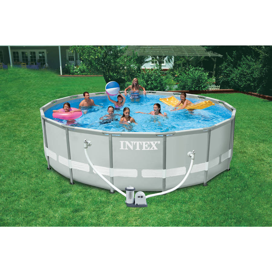 Intex 16 X 48 Quot Ultra Frame Swimming Pool Walmart Com