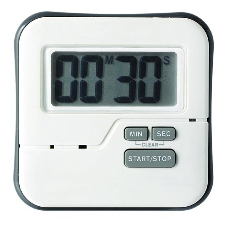 TMW1 Big Digit Waterproof Timer, Steamproof, waterproof and shatterproof By CDN