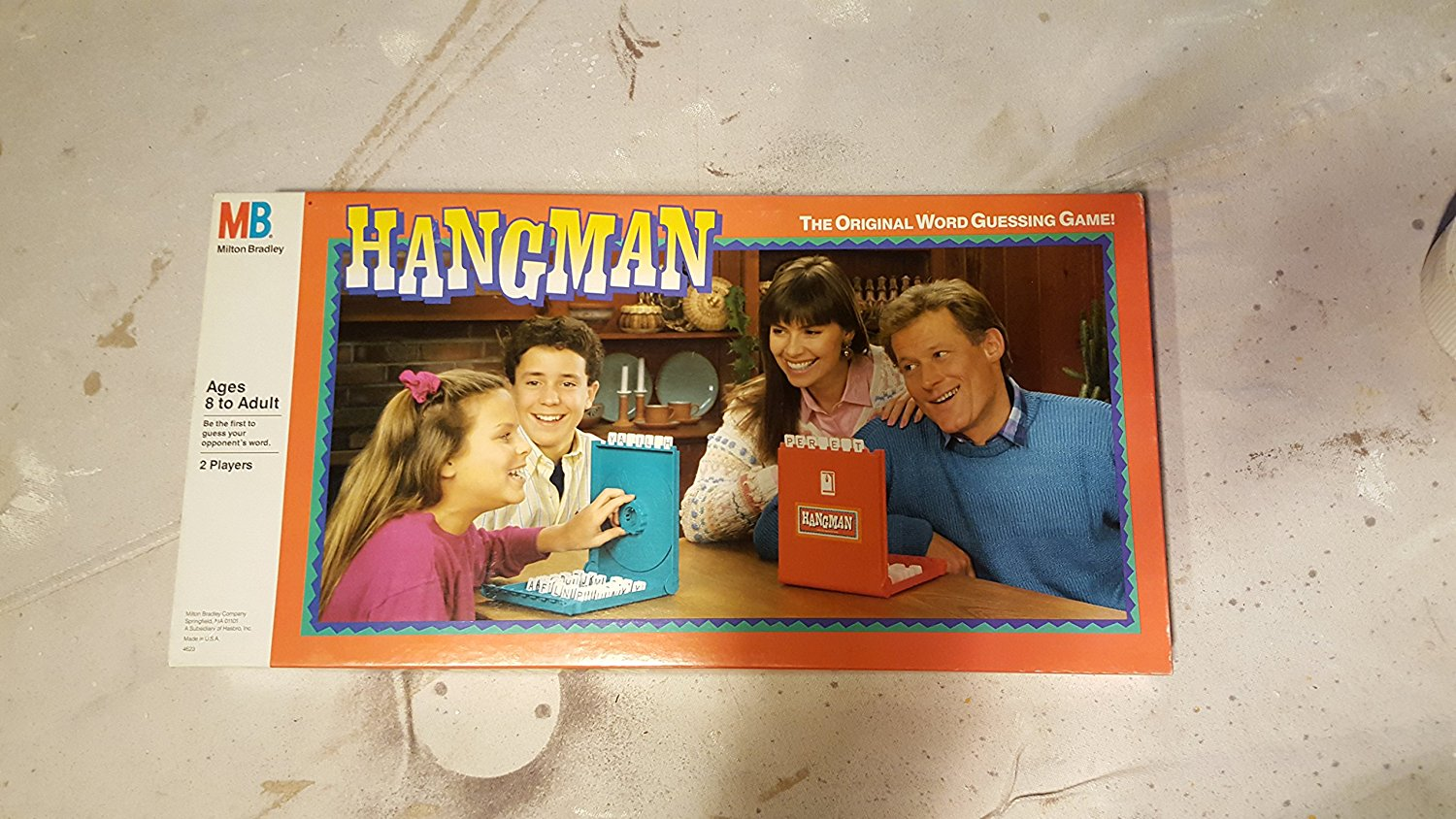 1988 Milton Bradley Hangman Board Game by Hasbro