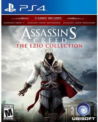 Assassin's Creed: The Ezio Collection, Ubisoft, PlayStation 4, 887256022280