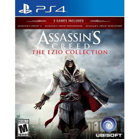 Assassin's Creed: The Ezio Collection, Ubisoft, PlayStation 4, 887256022280](Assassin's Creed Hidden Blade)