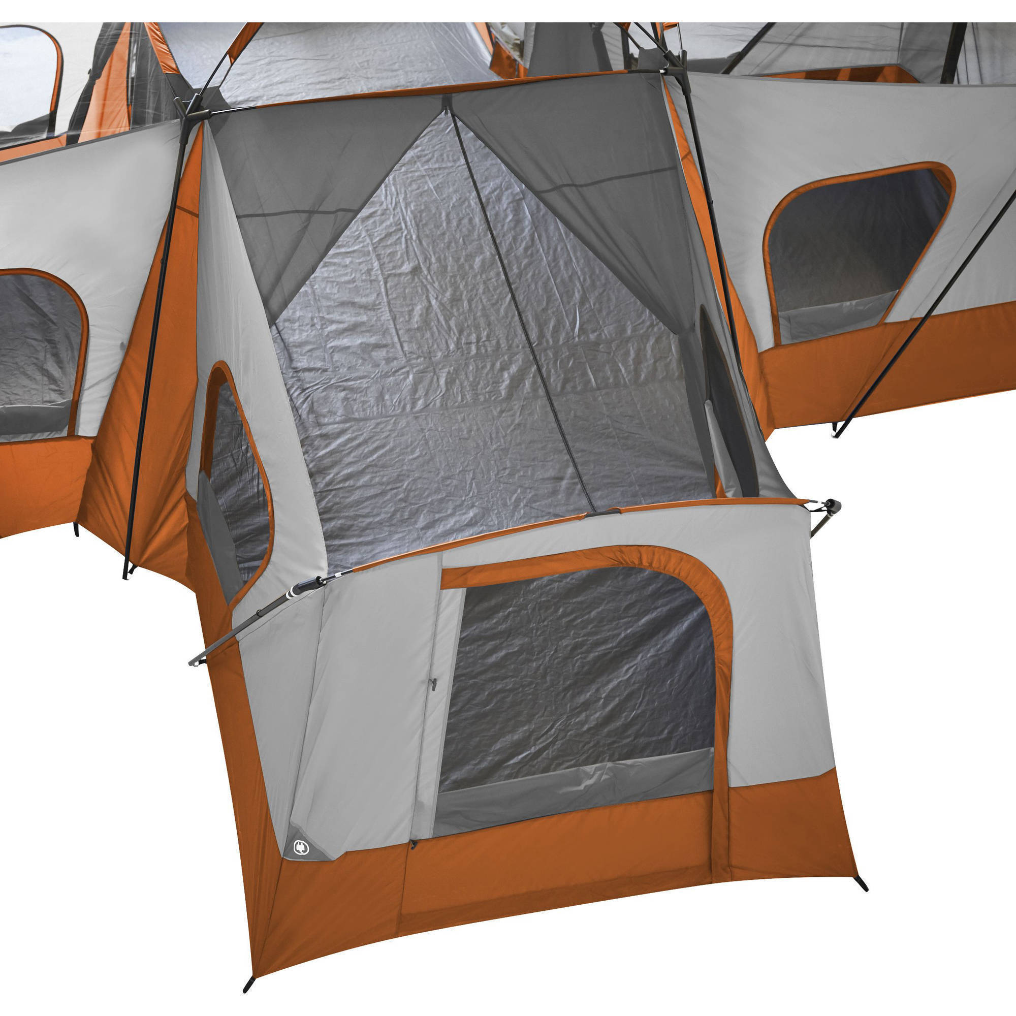 Ozark Trail 14-Person 4-Room Base C& Tent Image 6 of 9  sc 1 st  Walmart & Ozark Trail 14-Person 4-Room Base Camp Tent - Walmart.com