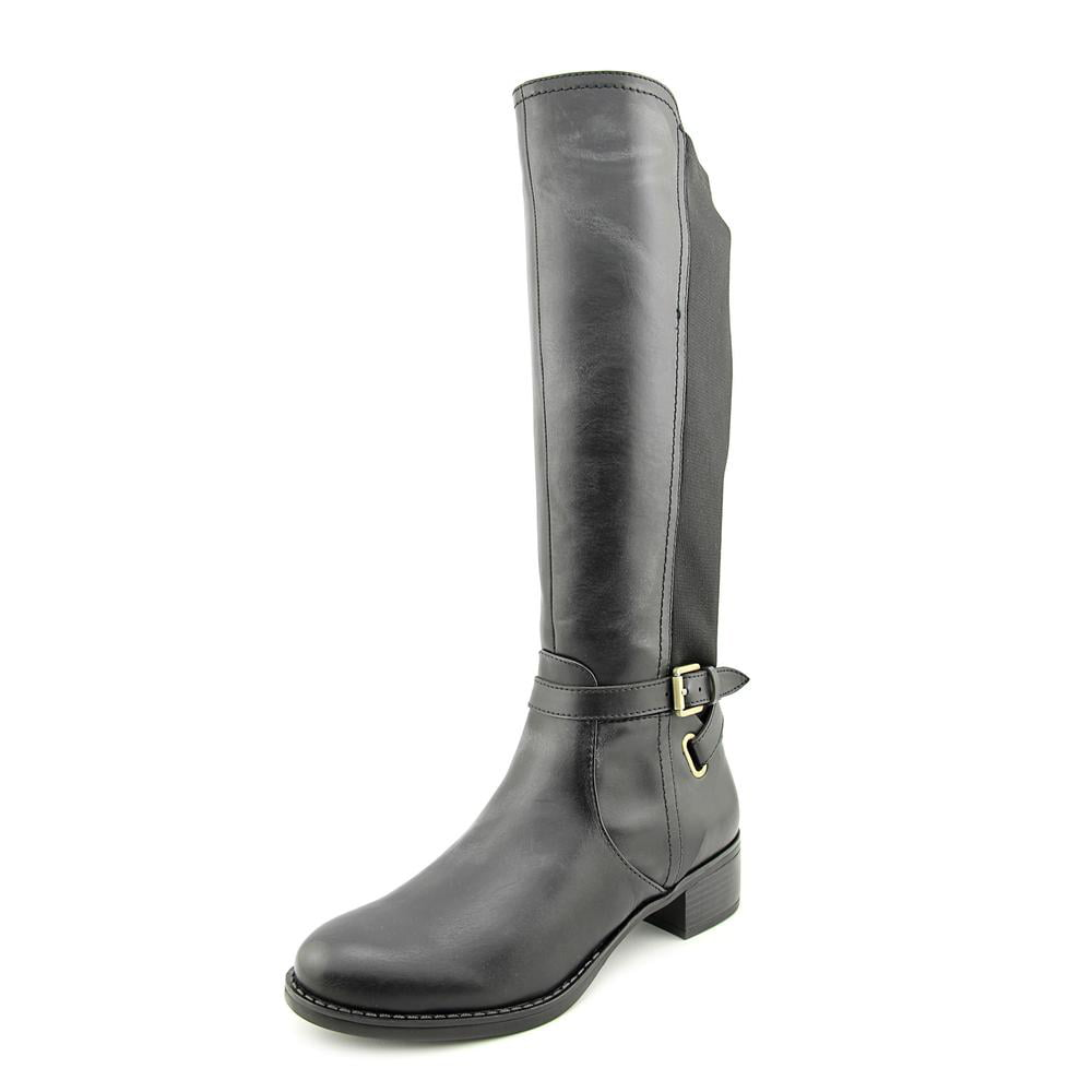 Franco Sarto Country Women Round Toe Synthetic Black Knee High Boot by Franco Sarto